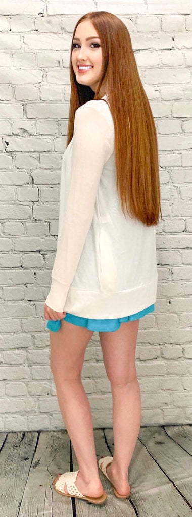 Button Me Up Ivory Cardigan (S-3XL)