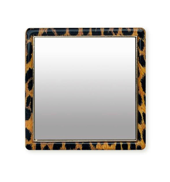 Leopard Phone Mirror