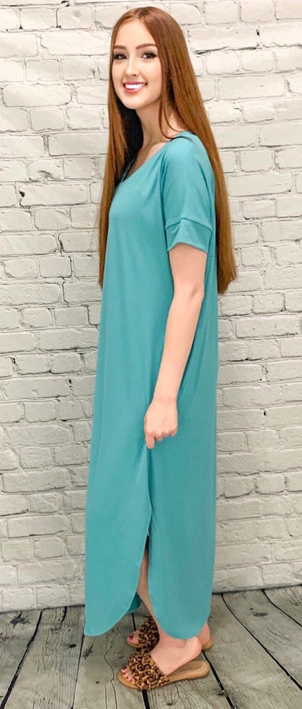 Calm & Collected Ash Mint Maxi (S-3X)