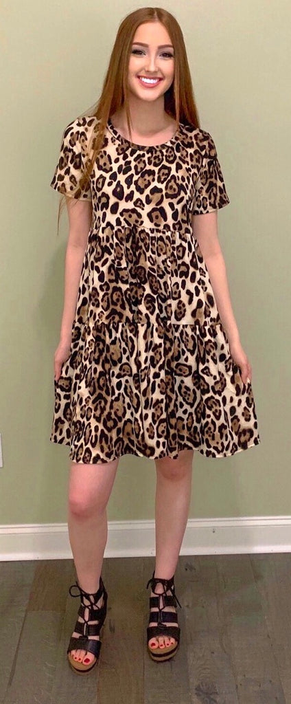 Wild About You Dress (S-3X)