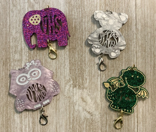Cute Creatures Personalized Lanyard Pendants