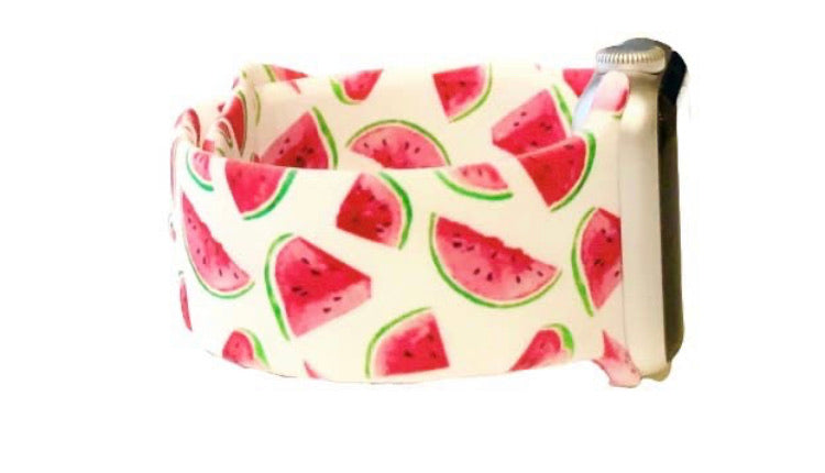 Watermelon Watch Band 38-40mm (can be personalized with engraving)