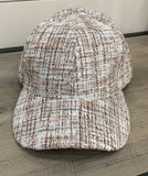 Taupe Twill Baseball Cap