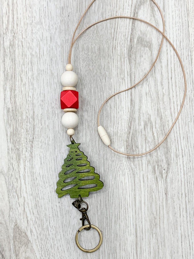 Christmas Tree Lanyard