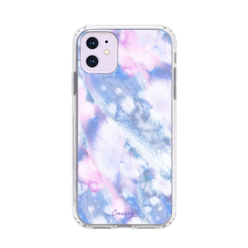 Tie-Dye Clouds iPhone Case (7 sizes)