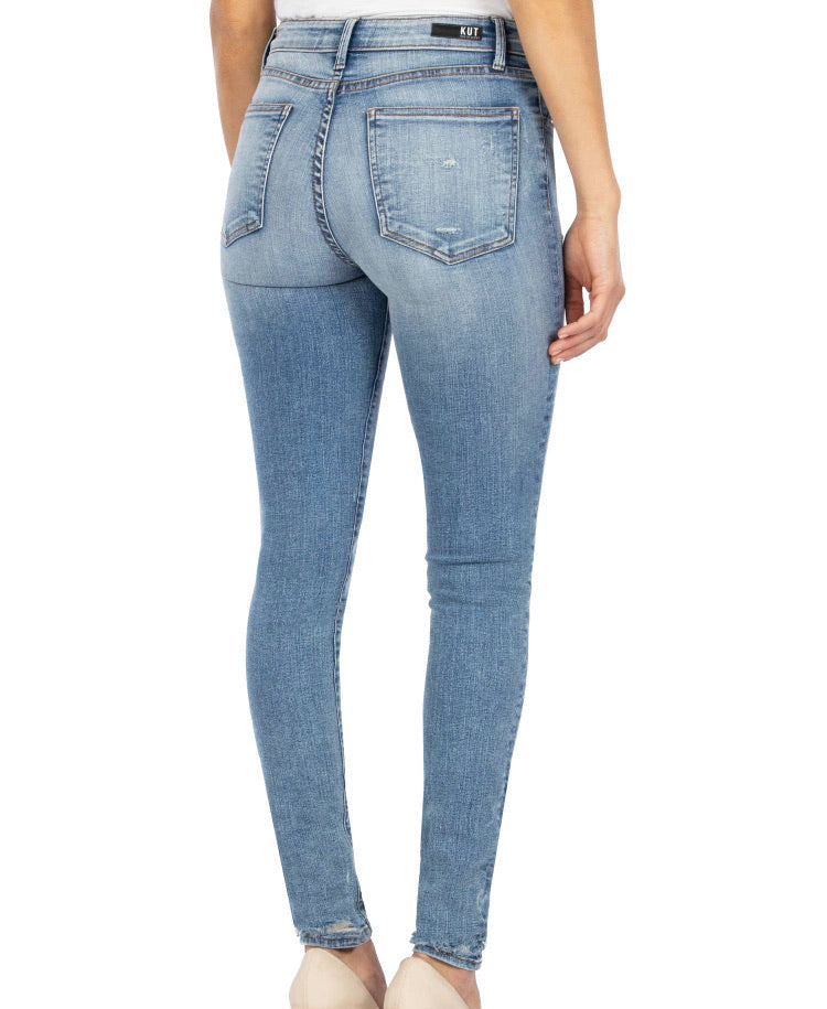 Mia High Rise Enlightened-Kut from the Kloth Jeans (2-14)