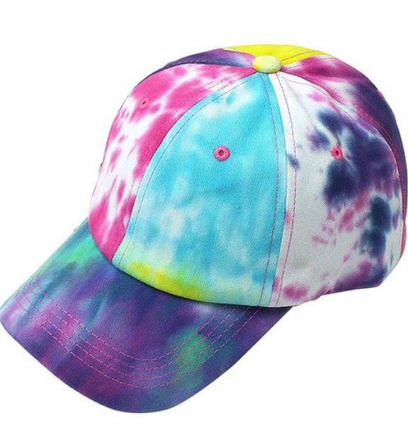Bright Multi Tie Dye Hat
