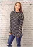 Hello Stripes Tunic (S-L)