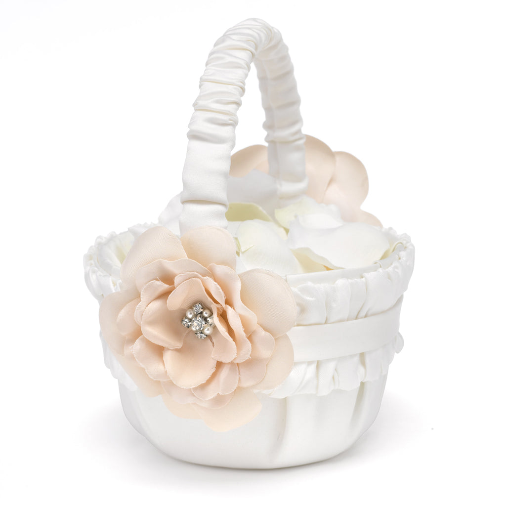 Love Blooms - Flower Girl Basket