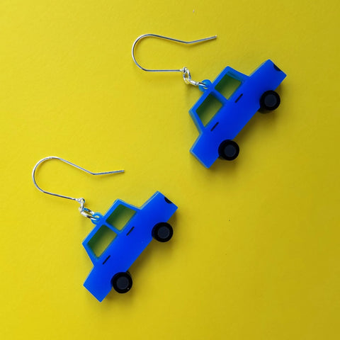 TOY CARS Acrylic Earrings