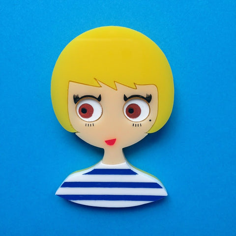 "Broche Acrylique ""AMY"""