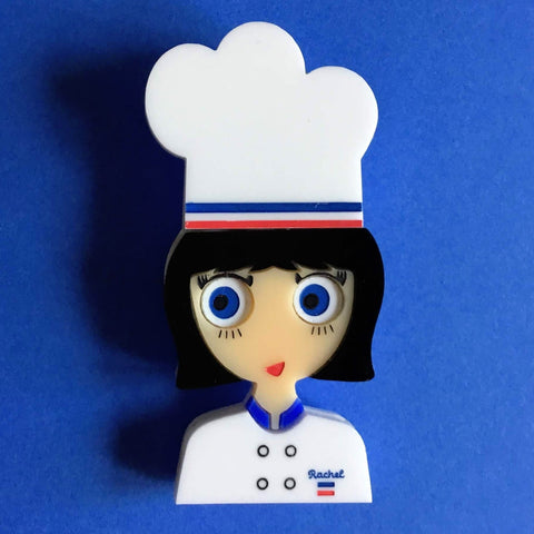 CHEF RACHEL Customizable Acrylic brooch