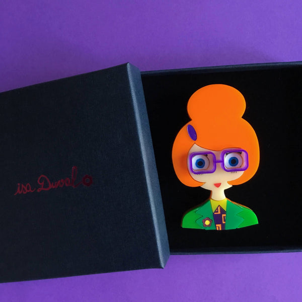 ISA 2020 Acrylic brooch, 4-Year Anniversary Limited Edition
