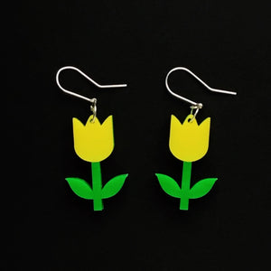 TULIPS Acrylic Earrings