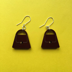 PURSE Acrylic Earrings