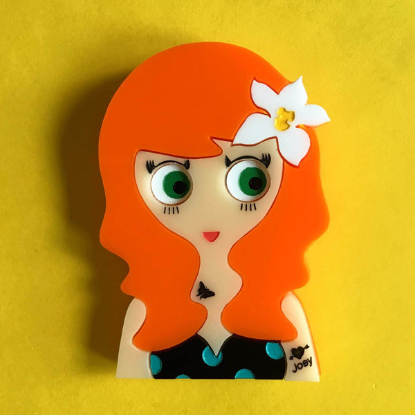 EVE Acrylic Brooch, July Limited & Numbered Edition - Isa Duval