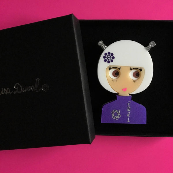 WENDY Astronaut Acrylic Brooch, 2021 limited edition