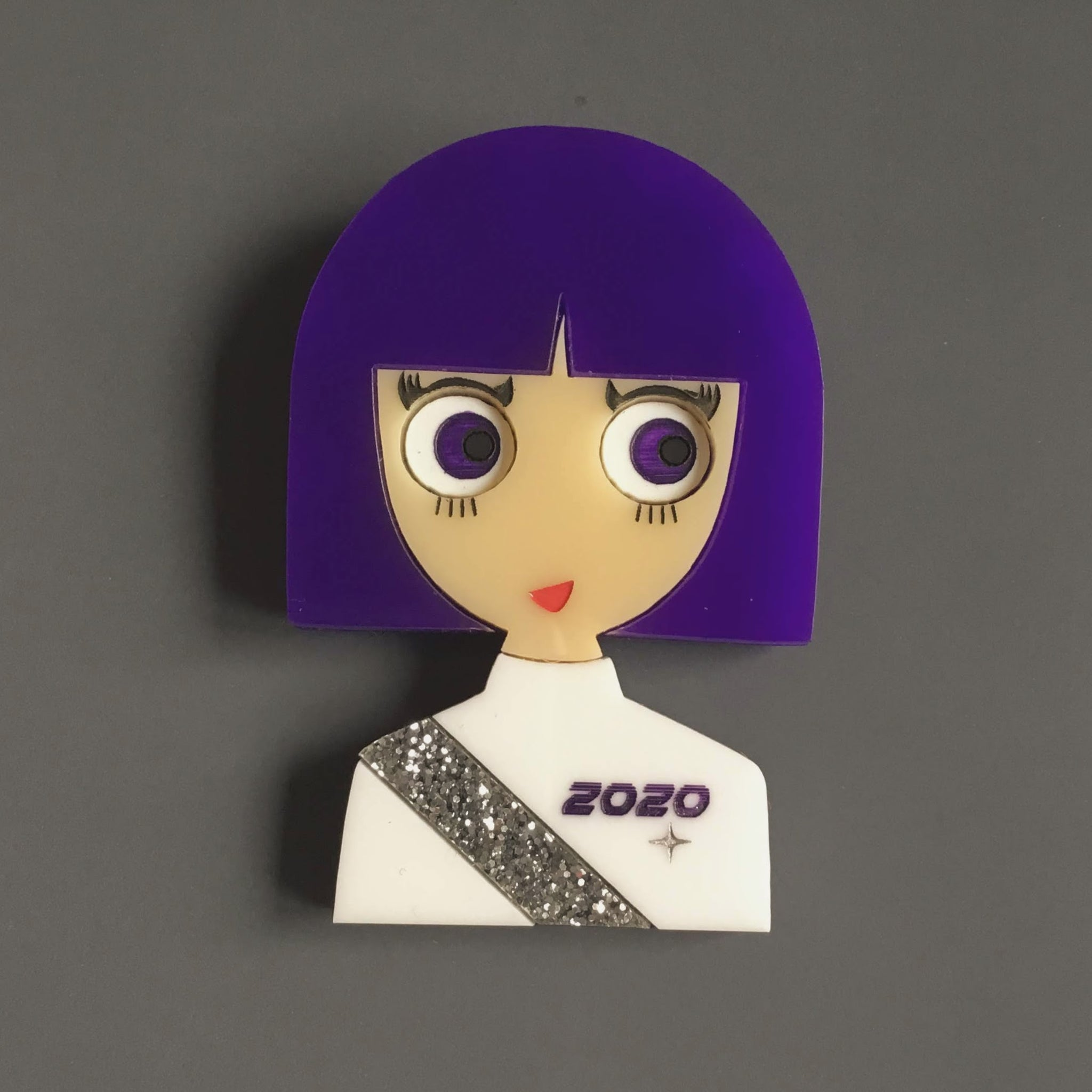 EILEEN Space Acrylic Brooch, Limited & Numbered Edition