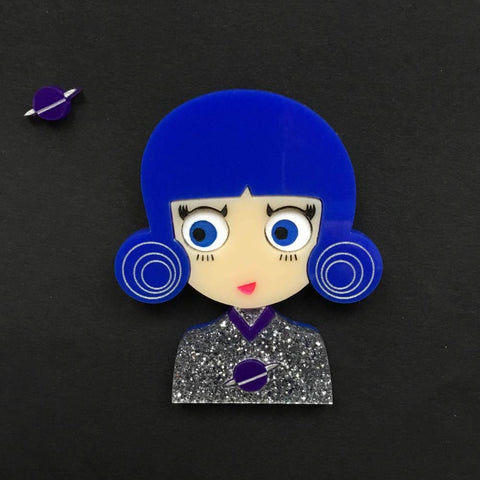 NOVA Acrylic Brooch, Limited & numbered edition from Outer Space - Isa Duval