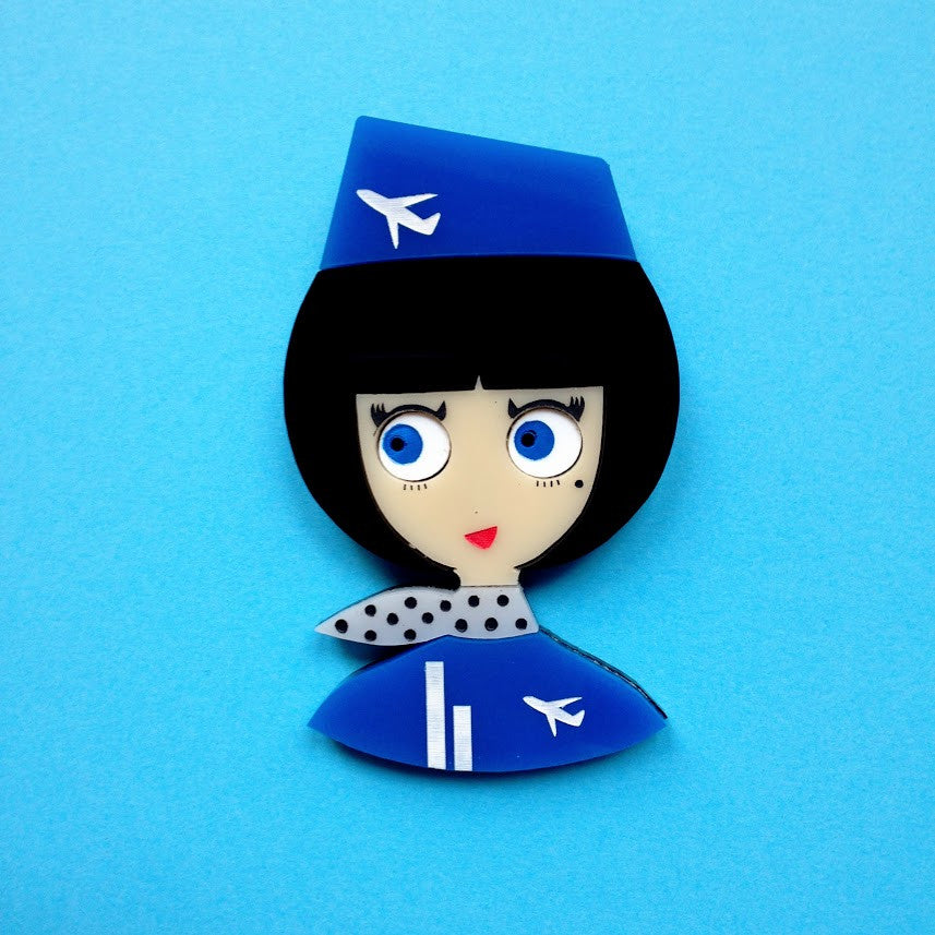 "Broche Acrylique ""KELLY"""