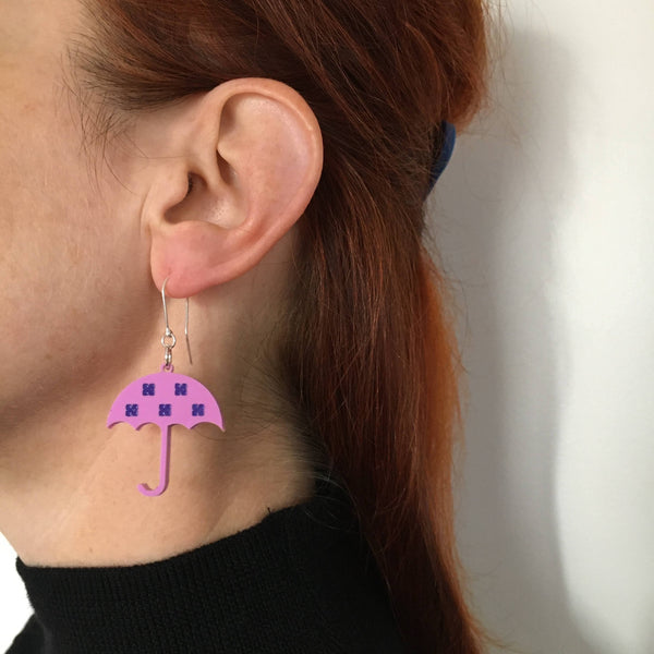 UMBRELLA Acrylic Earrings