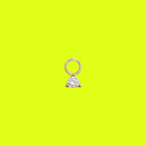 Little Diamond Charm Gold