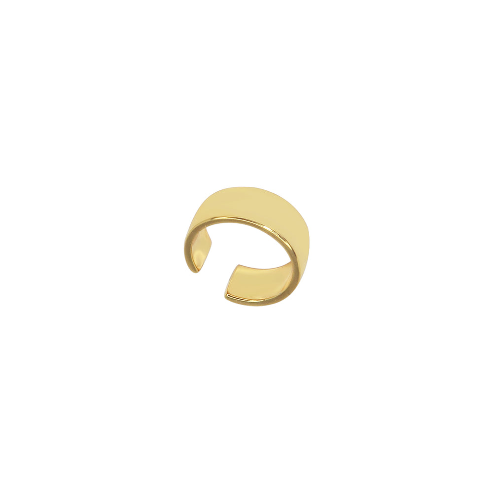 Load image into Gallery viewer, Flat Ear Cuff Gold