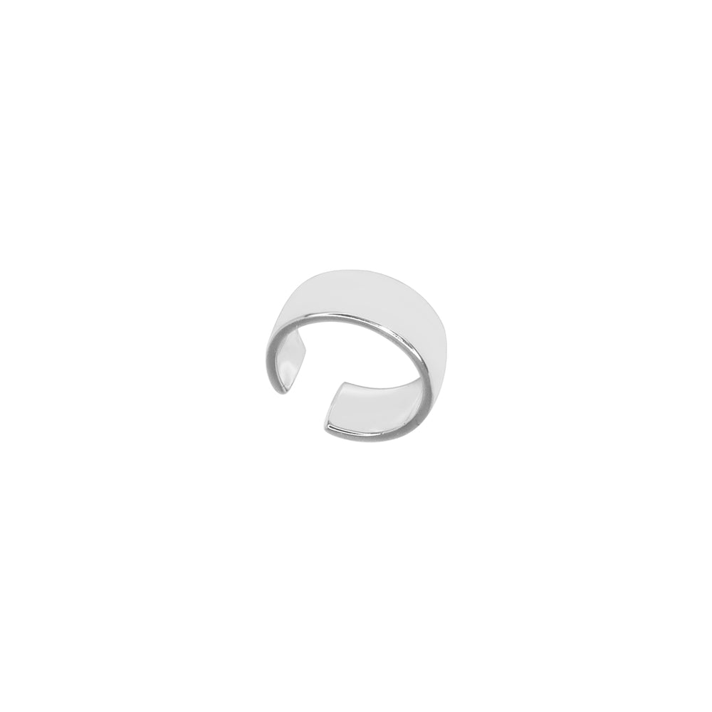 Load image into Gallery viewer, Flat Earcuff Silver