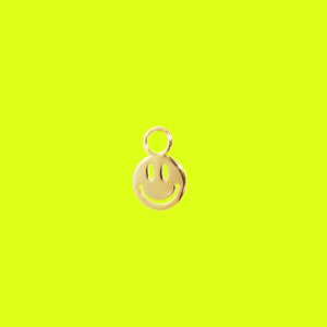 Happy Smile Charm Gold