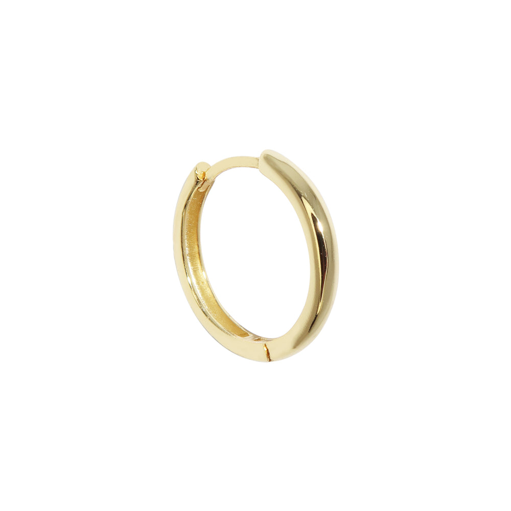Thick Large Basic Earring Gold