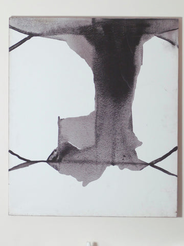 Guillermo Arizta encre sur canvas 1991