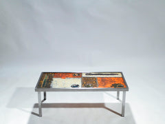Table basse céramique de Robert & Jean Cloutier vers 1950