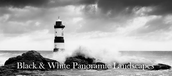 Black and White Panoramic Landscapes Gallery - Images by Smart Imaging taken at many popular locations across North Wales including Anglesey, Snowdonia and Conwy
