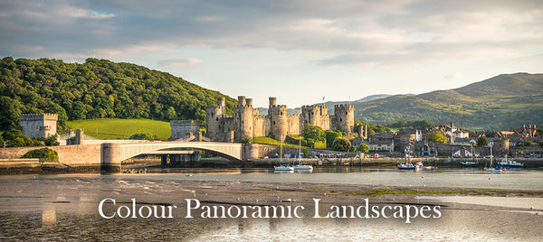 Colour Panoramic Landscapes Gallery - Panorama images from Iconic locations across North Wales including Conwy Castle, Llandudno Pier and Penmon Lighthouse