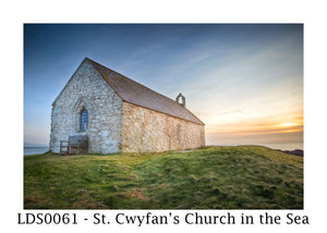 LDS0061 - St. Cwyfan's Church in the Sea