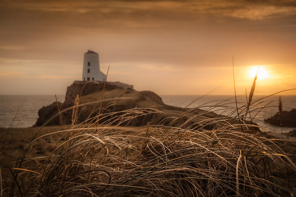 Tranquil Sunset at Llanddwyn Island - Anglesey Landscapes