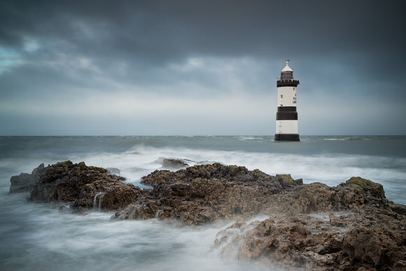 Penmon Lighthouse - Turbulent Tide