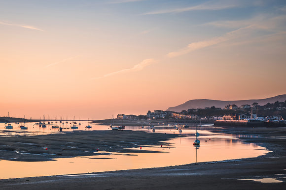 Conwy Harbour & Deganwy Sunset