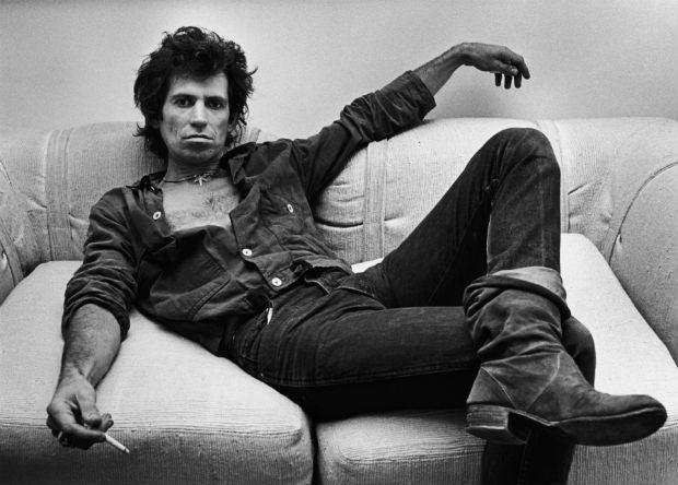 Style: Keith Richards