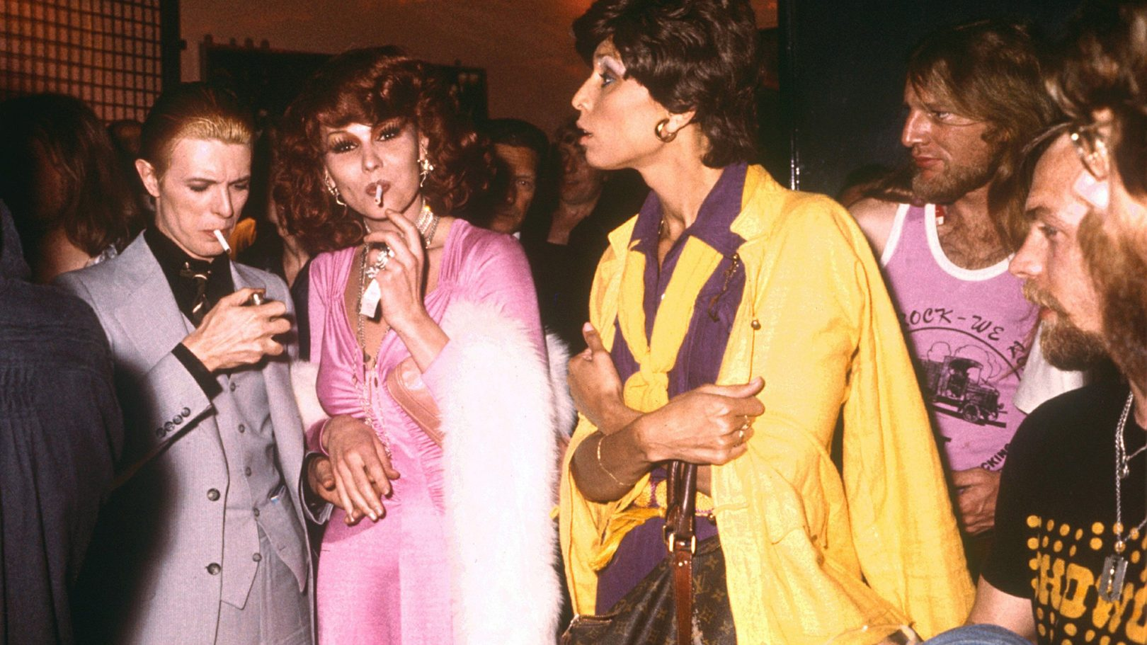 David Bowie in Studio 54