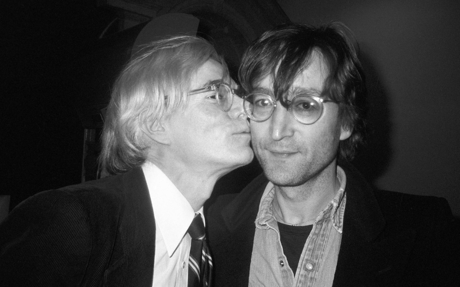 Andy Warhol and John Lennon