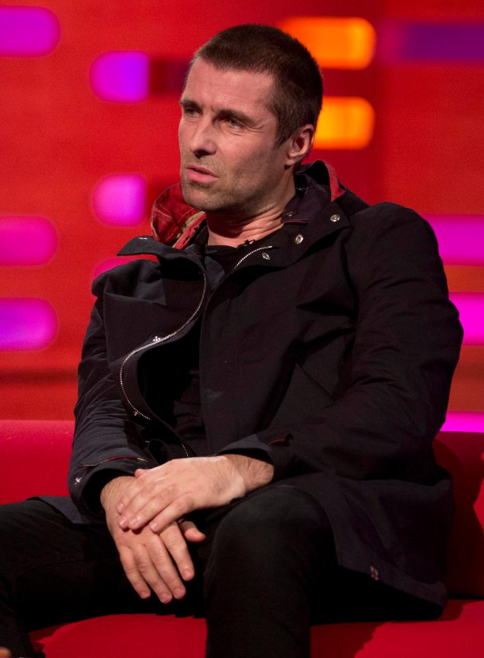 Liam Gallagher Graham Norton Show