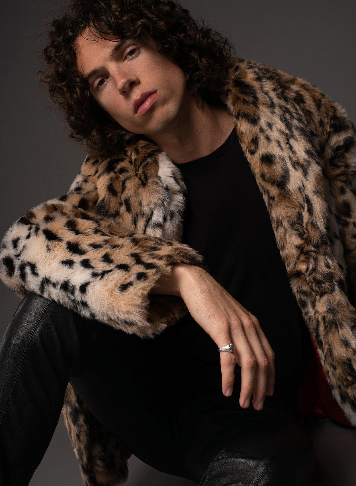 Libertine Leopard Fur Coat-PhixClothing.com