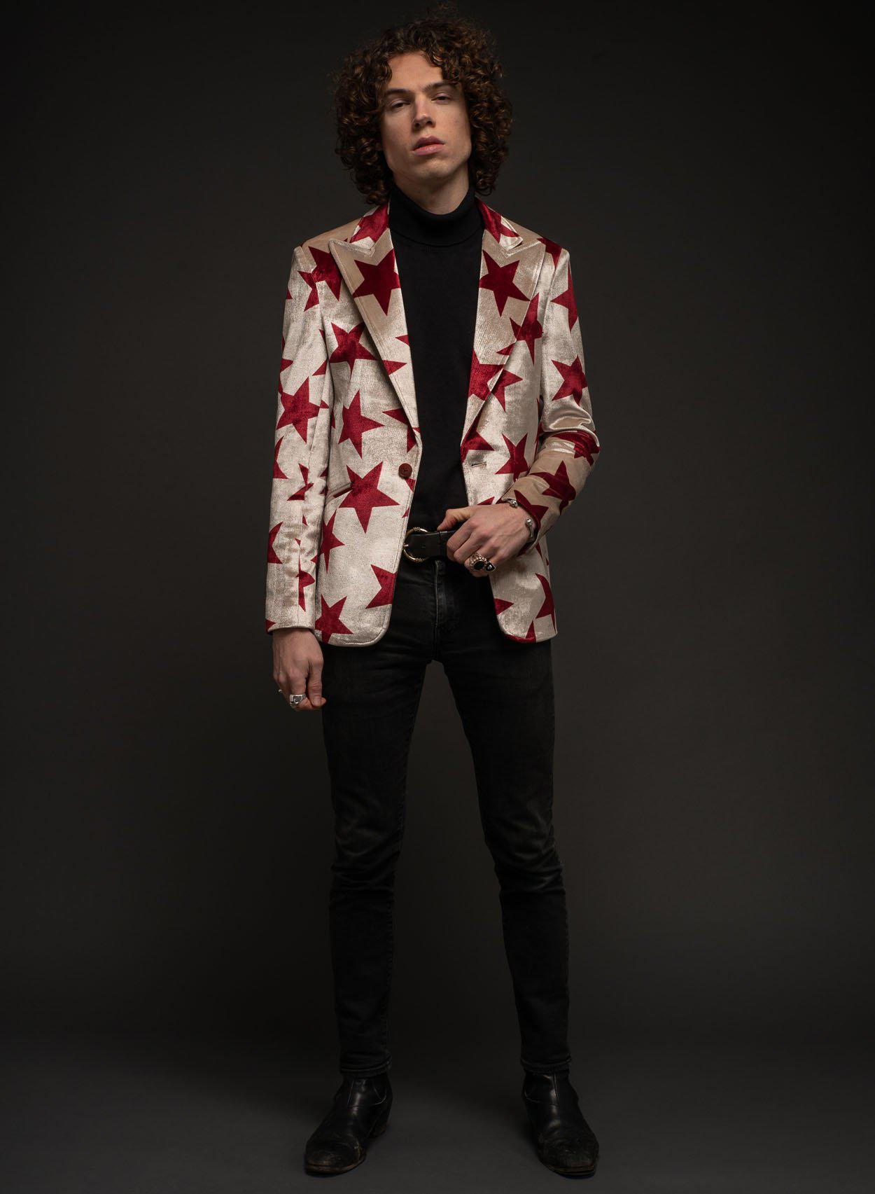 Starman Red Blazer-PhixClothing.com
