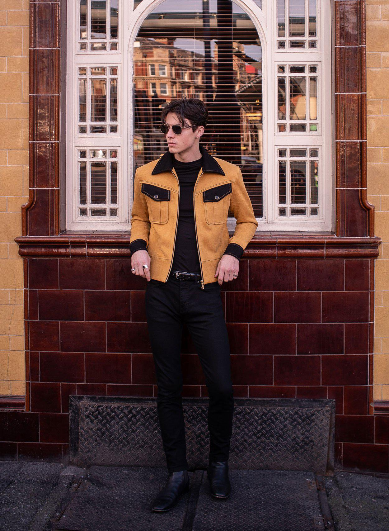 Kingly Mustard Jacket-PhixClothing.com