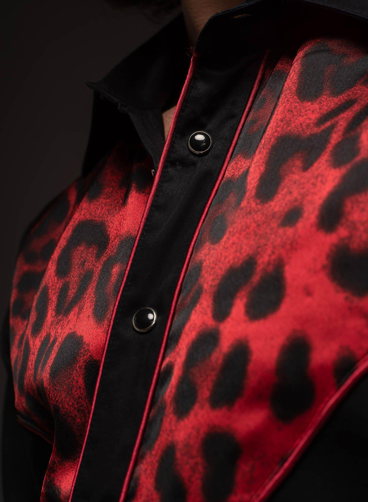 Midnight Leopard Shirt-PhixClothing.com