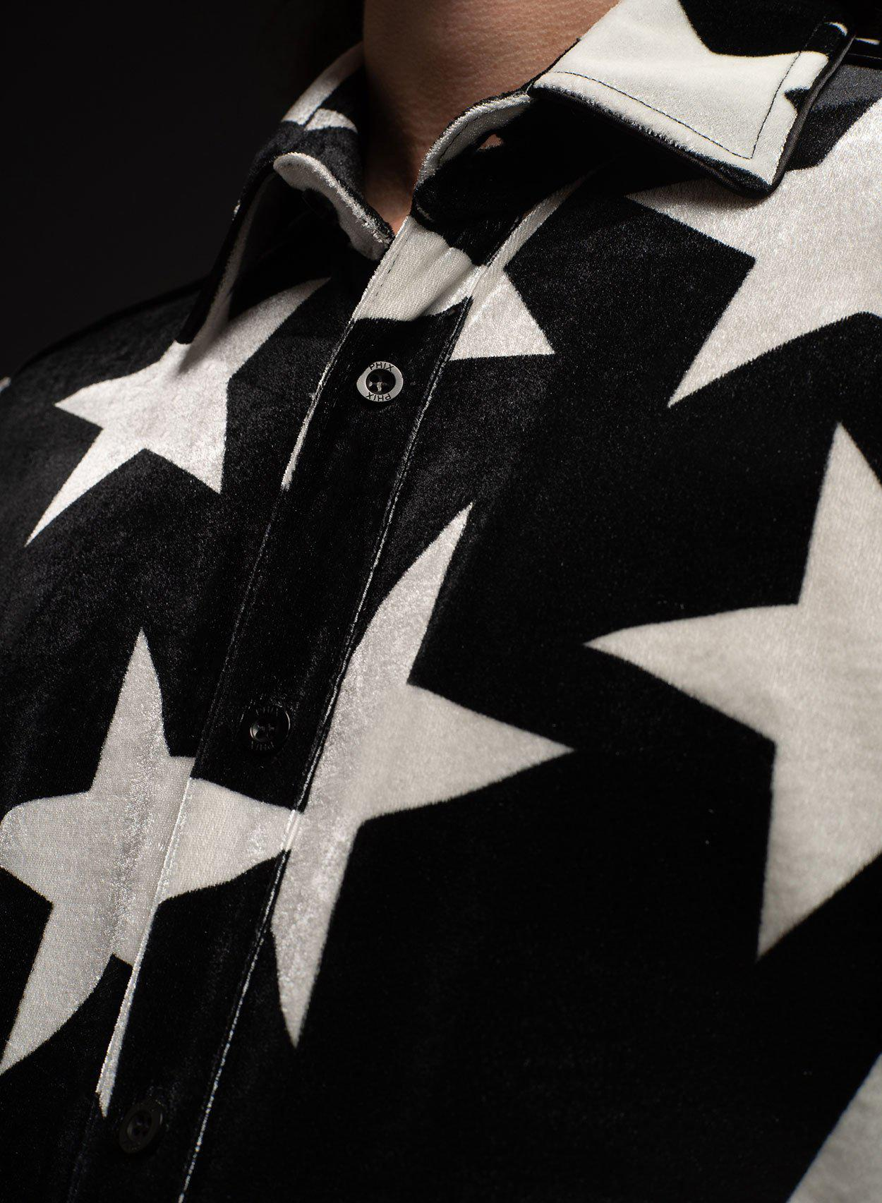 Black Starman Shirt-PhixClothing.com