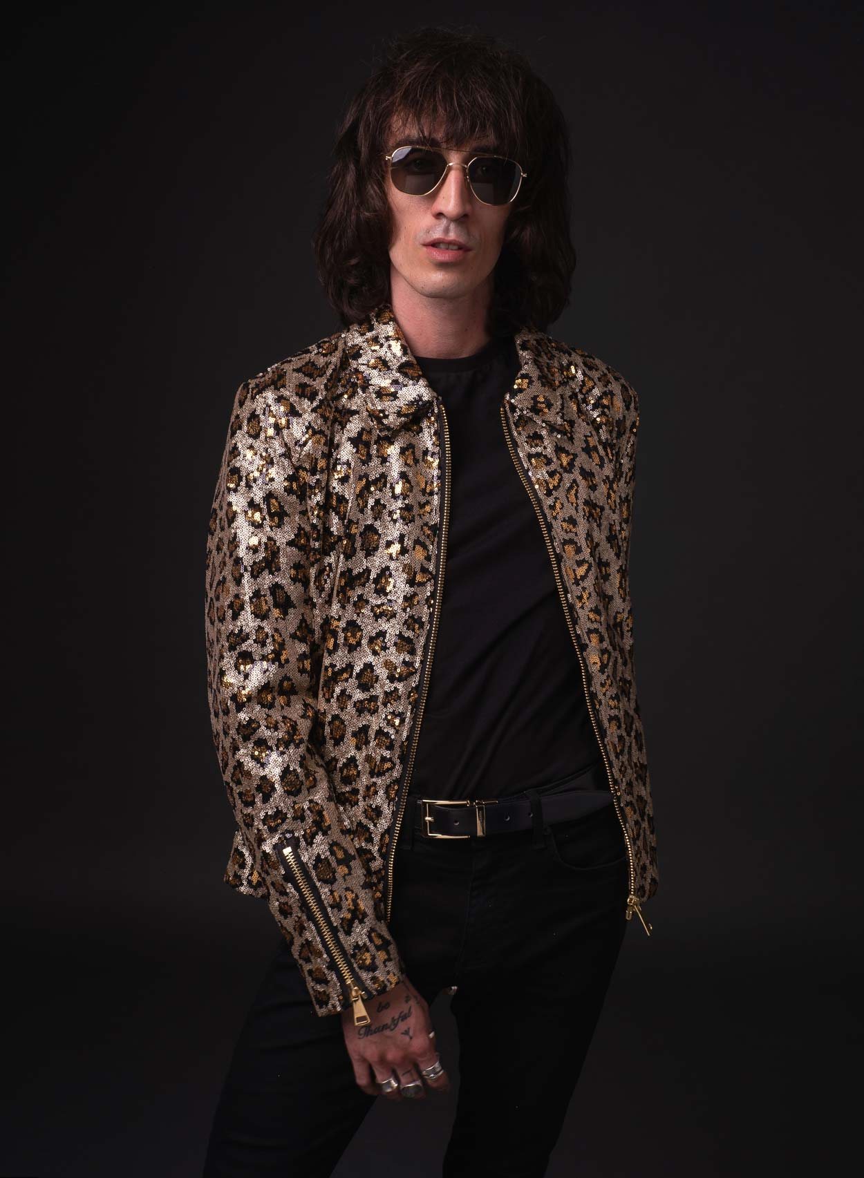 The Midnight Leopard Jacket-PhixClothing.com
