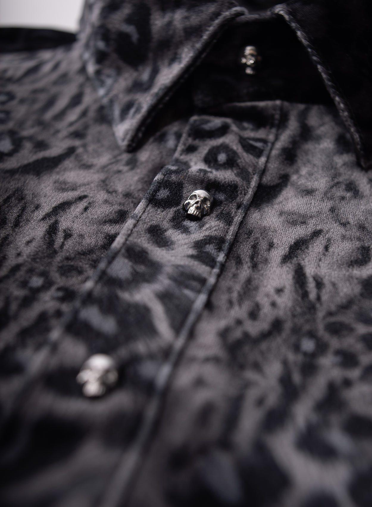 Rockwood Skull Button Shirt-PhixClothing.com