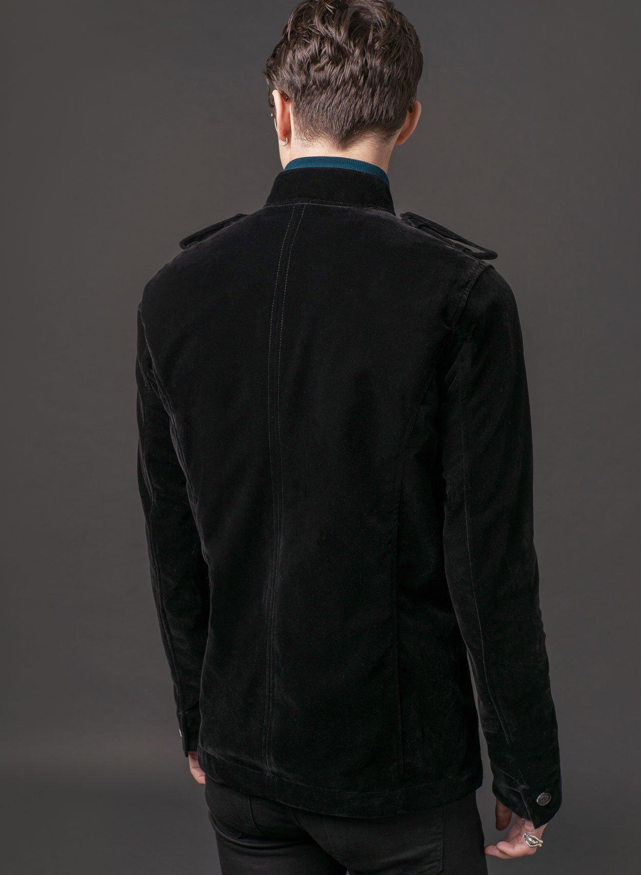 1962 Black Velvet Jacket - PhixClothing.com